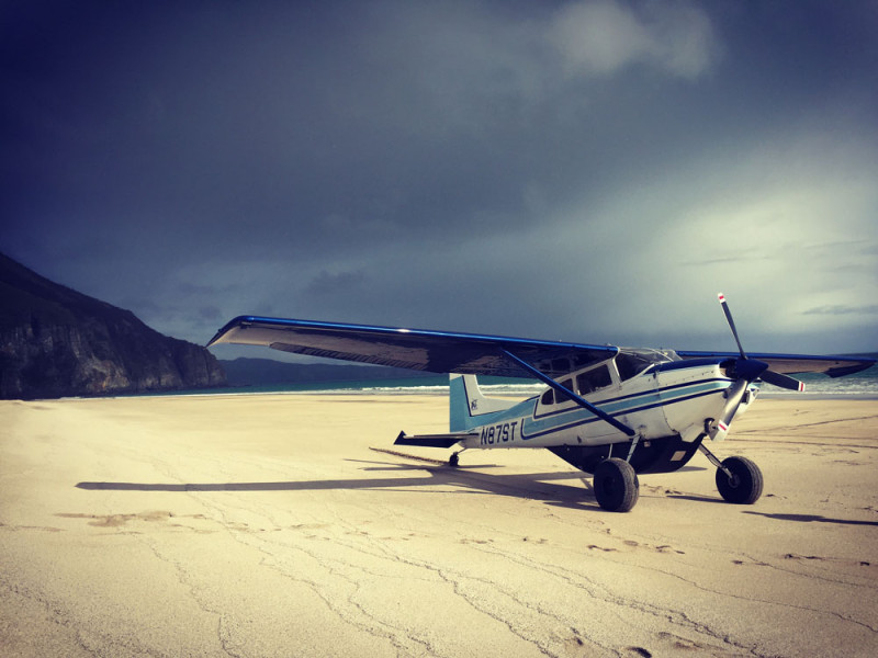 Fly-out Beach Landings in Alaska